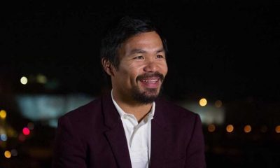 Tiebreaker Times Sen. Pacquiao vows to prioritize legislative duties over boxing return Boxing News  Top Rank Boxing Manny Pacquiao Bob Arum
