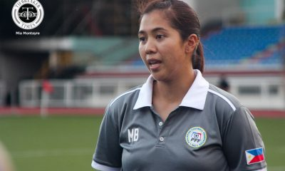 Tiebreaker Times Coaching senior squad a brand new world for Benitez Football News  Philippine Women's National Football Team Marielle Benitez