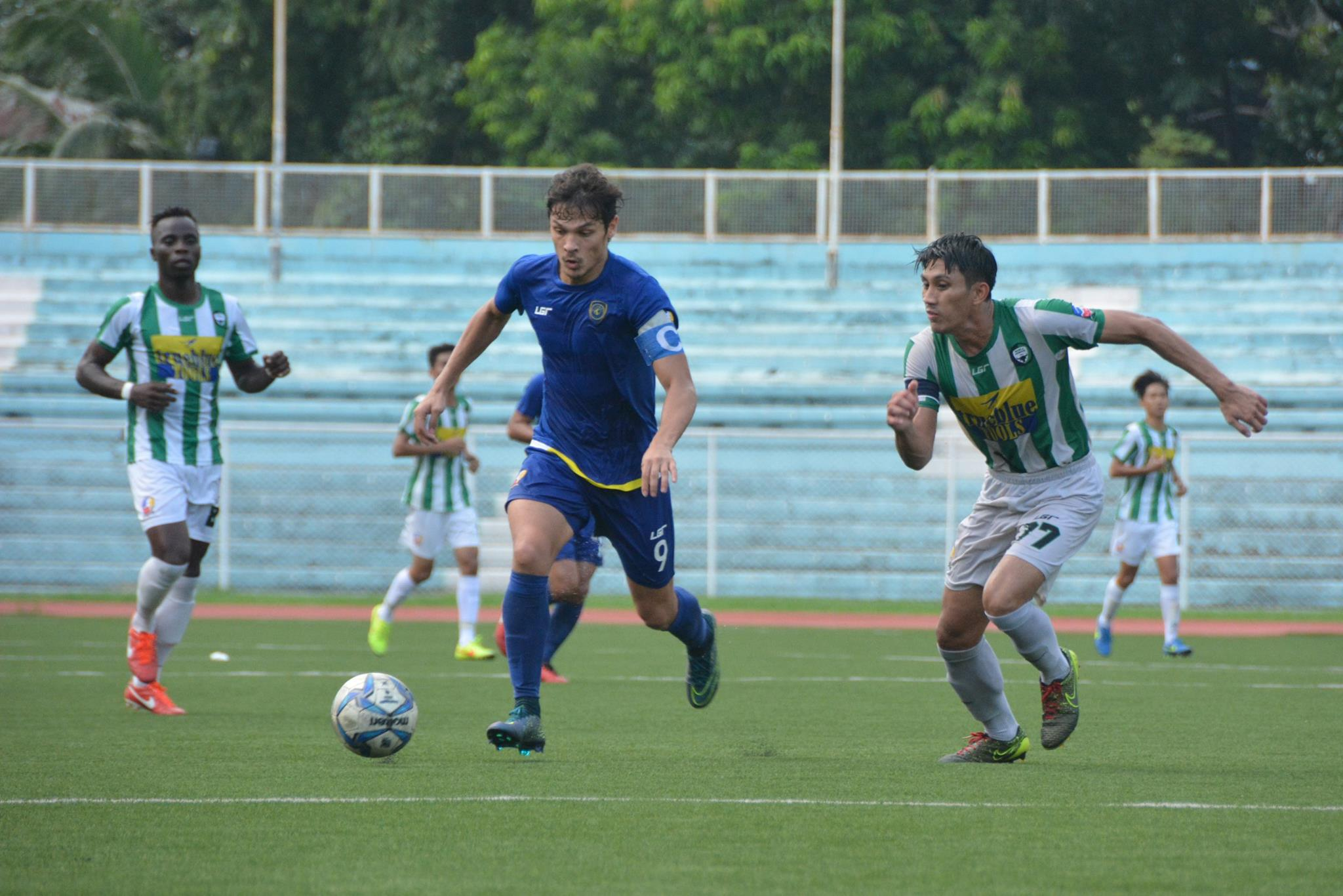 Tiebreaker Times Global, Ceres-La Salle rip foes ahead of Sunday's thrilling clash Football News UFL  Victorino Son Nomads SC Misagh Bahadoran Martin Steuble Leigh Manson Lee Jeong-Woo Hikaru Minegishi Green Archers United FC Global FC Ceres-La Salle FC Ali Go Adrian Gallardo 2016 UFL League