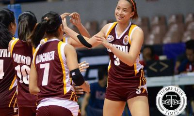 Tiebreaker Times Acaylar hopes more exposure gives Lady Altas confidence News PSL PVL UPHSD Volleyball  Sammy Acaylar Perpetual Women's Volleyball NCAA Season 92 Women's Volleyball NCAA Season 92 Lourdes Clemente Coleen Bravo Cindy Imbo 2016 SVL Season 2016 SVL Collegiate Conference 2016 PSL Season 2016 PSL All Filipino Conference
