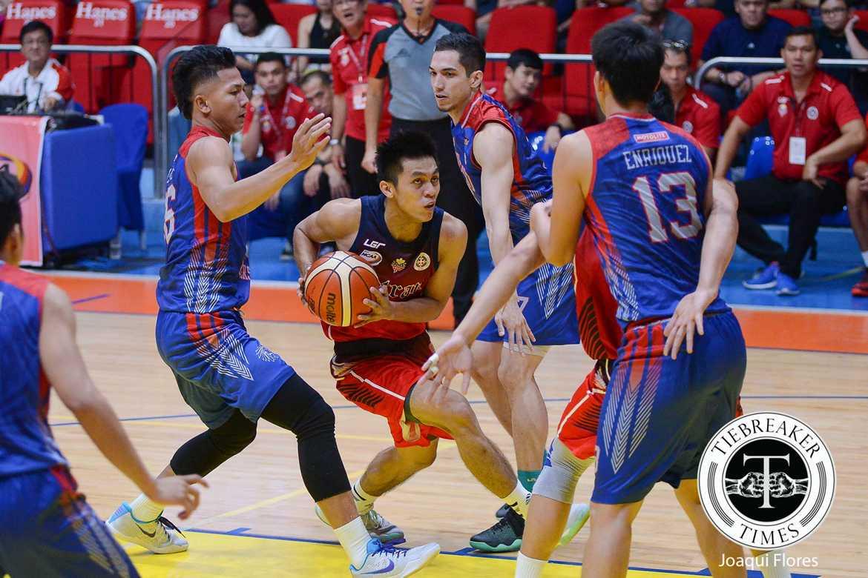 Nambatac, Letran hand Arellano first taste of defeat   Tiebreaker Times