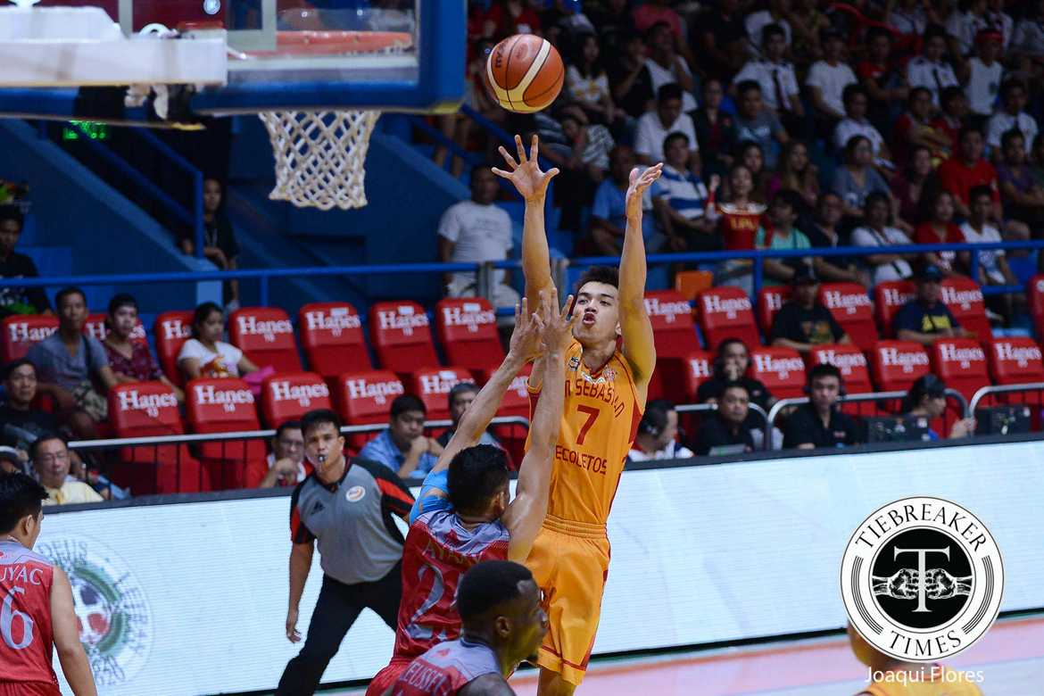 Philippine Sports News - Tiebreaker Times After posting first streak, Michael Calisaan feels Che'Lu-San Sebastian ready to get back at Zark's-Lyceum Basketball News PBA D-League SSC-R  Che'lu-San Sebastian Revellers 2018 PBA D-League Season 2018 PBA D-League Aspirants Cup