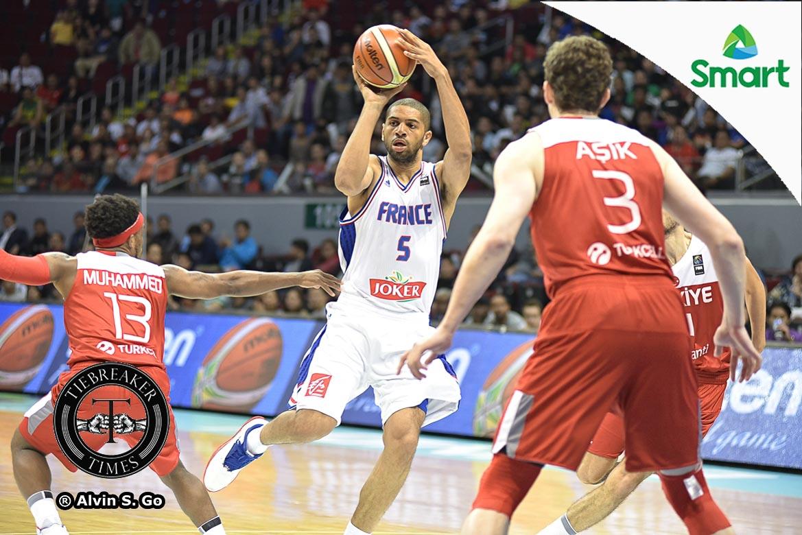Tiebreaker Times WATCH: Batum talks first game in Manila OQT, teammates 2016 Manila OQT Basketball France News  Nicolas Batum 2016 Basketball Olympic Qualifying Tournament