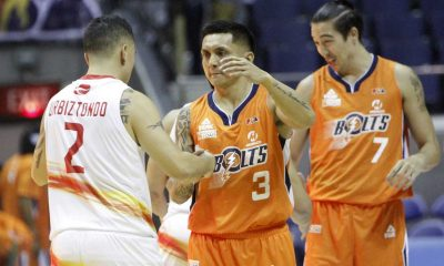 Tiebreaker Times Meralco escapes gritty Phoenix to open Governor's Cup Basketball News PBA  Simon Enciso Phoenix Petroleum Fuel Masters Norman Black Meralco Bolts Marcus Simmons Josh Urbiztondo Jimmy Alapag Jared Dillinger Ariel Vanguardia Allen Durham