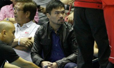 Tiebreaker Times Sacrifices of Enforcers paying off says Pacquiao Basketball News PBA  PBA Season 41 Manny Pacquiao Mahindra Enforcers 2016 PBA Governors Cup