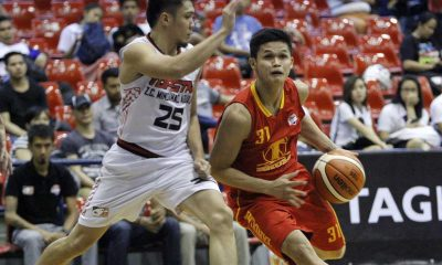 Tiebreaker Times Tanduay blasts Topstar by 55 points Basketball News PBA D-League  Tanduay Rhum Masters Rden Celda Nino Natividad Mindanao-ZC Aguilas Lawrence Chongson Kim Lo JR Cawaling Gelo Alolino Dexter Garcia 2016 PBA D-League Season 2016 PBA D-League Foundation Cup