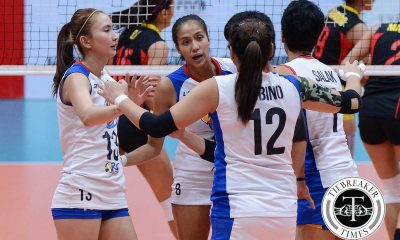 Tiebreaker Times Gonzaga on F2 losses: 'We're soldiers, babawi kami' News PSL Volleyball  RC Cola Army Lady Troopers Jovelyn Gonzaga 2016 PSL Season 2016 PSL All Filipino Conference