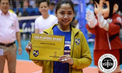 Tiebreaker Times Petron's Jen Reyes nabs fourth FIVB golden ticket 2016 FIVB Women's CWC News PSL Volleyball  Petron Tri-activ Spikers Jen Reyes 2016 PSL Season 2016 PSL All Filipino Conference 2016 FIVB Club World Championship