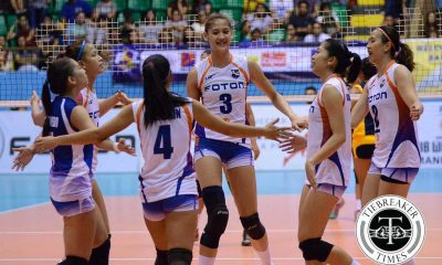 Tiebreaker Times Foton rips through Standard Insurance-Navy, ends round on high note News PSL Volleyball  Zenaida Chavez Villet Ponce-de Leon Standard Insurance-Navy Corvettes Pau Soriano Norie Jane Diaz Maica Ortiz Jaja Santiago Ivy Perez Foton Tornadoes EJ Laure Bia General 2016 PSL Season 2016 PSL All Filipino Conference