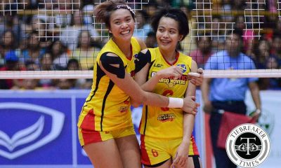 Tiebreaker Times Ara Galang to make return next Grand Prix; Mich Morente a possibility News PSL Volleyball  Ramil De Jesus Michelle Morente F2 Logistics Cargo Movers Ara Galang 2018 PSL Season 2018 PSL Grand Prix
