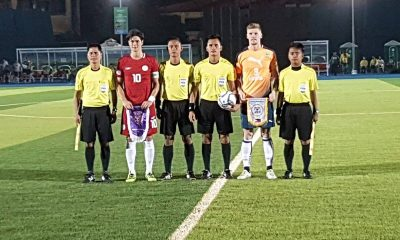 Tiebreaker Times Perth Glory noses Azkals out in Vigan friendly Football News Philippine Azkals  Simone Rota Philippine Azkals Perth Glory FC Nick O'Donnell