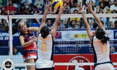 Tiebreaker Times Maizo-Pontillas, Petron ride smooth start to leave Corvettes in the dust News PSL Volleyball  Zenaida Chavez Standard Insurance-Navy Corvettes Petron Tri-activ Spikers Pau Soriano Maica Morada Jen Reyes George Pascua Diane Ticar Aiza Maizo-Pontillas Acy Masangkay 2016 PSL Season 2016 PSL All Filipino Conference