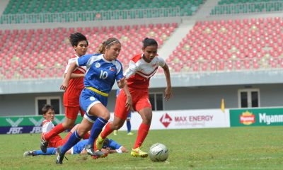 Tiebreaker Times Philippines ends ASEAN tourney stint with Singapore win Football News Philippine Malditas  Philippine Women's National Football Team Cristina De los Reyes Camille Wilson 2016 AFF Women's Championships