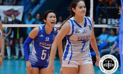 Tiebreaker Times Gohing, Gumabao peg Game 2 as test of character News PVL Volleyball  Pocari Sweat Lady Warriors Michele Gumabao Melissa Gohing 2016 SVL Season 2016 SVL Open Conference