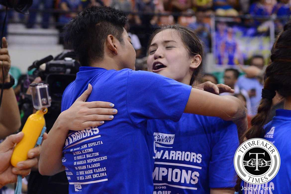 Tiebreaker Times Gumabao, Pocari Sweat part ways News PSL PVL Volleyball  Pocari Sweat Lady Warriors Michele Gumabao 2017 PVL Season 2017 PSL Season
