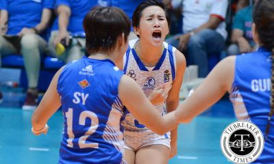 Tiebreaker Times 'I don't know how I did that,' says game 2 hero Gohing News PVL Volleyball  Pocari Sweat Lady Warriors Melissa Gohing 2016 SVL Season 2016 SVL Open Conference