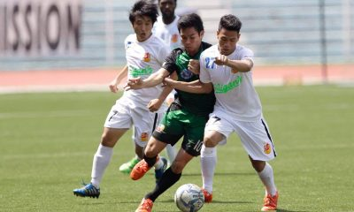 Tiebreaker Times Stallion, Archers end first round with a draw Football News UFL  Stallion FC Jhan Melliza Green Archers United FC Ashley Flores 2016 UFL League