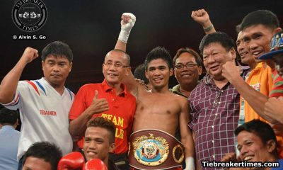 Tiebreaker Times Tapales KO's Thai champ in enemy territory to cop WBO gold Boxing News  World Boxing Organization Pungluang Sor Singyu Marlon Tapales