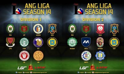 Tiebreaker Times UAAP, NCAA teams collide in 14th Ang Liga ADMU CSB FEU Football LPU News NU SBC UP UST  UST UP SBC NU LPU FEU CSB ADMU