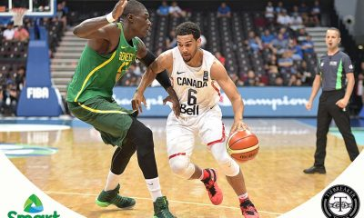 Tiebreaker Times Canada breaks through to the semis 2016 Manila OQT Basketball Canada News Senegal  Tyler Ennis Moustapha Gaye Melvin Ejim Maurice Ndour Maleye Ndoye Jay Triano Clevin Hannah 2016 Basketball Olympic Qualifying Tournament
