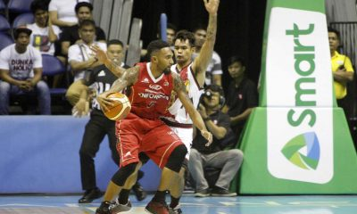 Tiebreaker Times Mahindra squeaks past San Miguel for franchise's best start Basketball News PBA  San Miguel Beermen Ryan Arana PBA Season 41 Paolo Taha Mahindra Enforcers KG Canaleta Keith Agovida Junemar Fajardo James White Chris Gavina AZ Reid Alex Cabagnot 2016 PBA Governors Cup