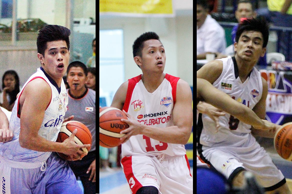Tiebreaker Times It's a three-way race for Foundation Cup MVP plum Basketball News PBA D-League  Mike Tolomia Jonathan Grey Carl Cruz 2016 PBA D-League Season 2016 PBA D-League Foundation Cup