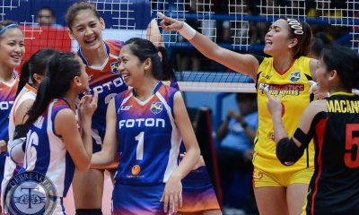 Tiebreaker Times Just one last time News PSL Volleyball  Foton Tornadoes F2 Logistics Cargo Movers 2016 PSL Season 2016 PSL All Filipino Conference