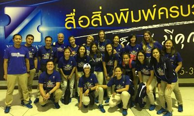 Tiebreaker Times Foton Pilipinas takes on Thai team in prelude to AVC WCC News PSL Volleyball  Patty Orendain Lindsay Stalzer Jen Reyes Foton Pilipinas Fabio Menta EJ Laure Cherry Rondina Ariel Usher Aby Marano 2016 Select Tuna Thailand Volleyball Championship