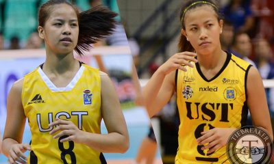 Tiebreaker Times Reunited Laure Sisters News PVL Volleyball  UST Women's Volleyball Eye Laure EJ Laure 2016 SVL Season 2016 SVL Collegiate Conference