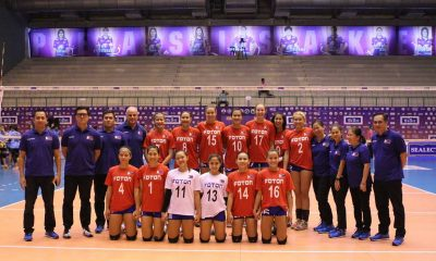 Tiebreaker Times Foton Pilipinas gains valuable experience in Thailand 2016 Asian WCC News PSL Volleyball  Lindsay Stalzer Jen Reyes Foton Pilipinas Fabio Menta Ariel Usher Aby Marano 2016 Select Tuna Thailand Volleyball Championship