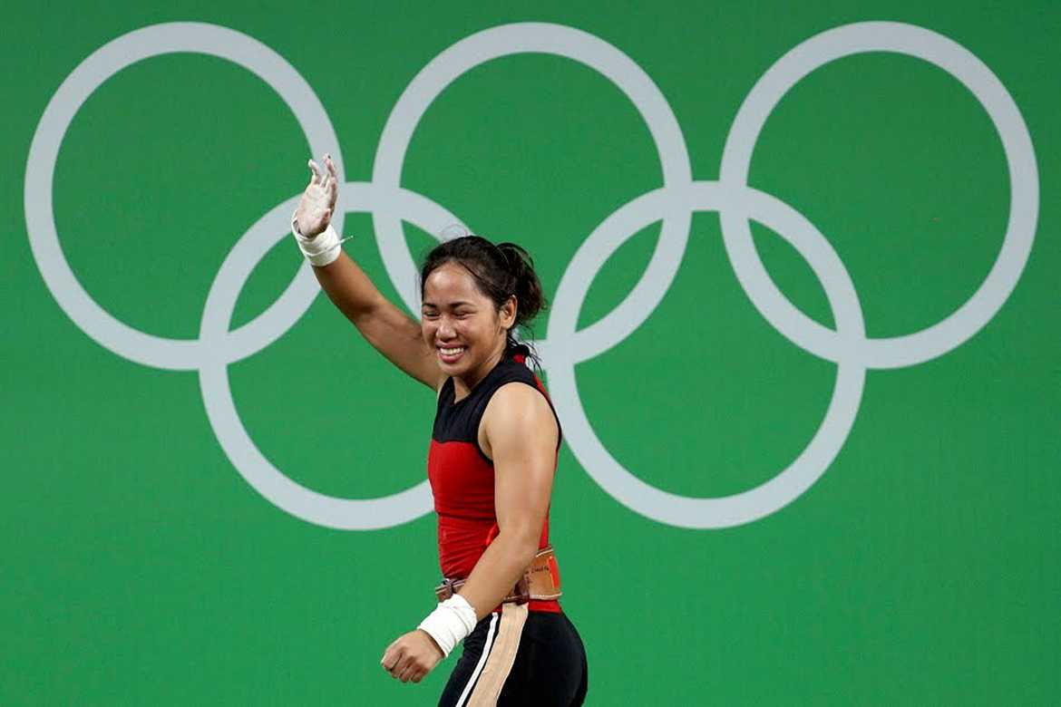 Philippine Sports News - Tiebreaker Times Olympic hero Diaz set to receive Php 5M in government incentives 2016 Olympic Games News Weightlifting  Hidilyn Diaz 2016 Olympic Games - Weightlifting