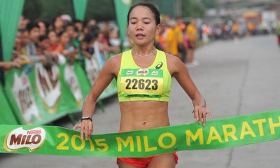 Tiebreaker Times Olympian Tabal: 'Hindi ako papayag na DNF ang Pilipinas' 2016 Olympic Games News Track & Field  Mary Joy Tabal 2016 Olympic Games - Athletics
