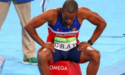 Tiebreaker Times Philippines suffer twin defeats in Rio 2016 Olympic Games News Track & Field  Marestella Torres-Sunang Eric Cray 2016 Olympic Games - Athletics
