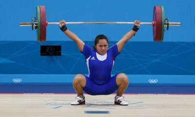 Tiebreaker Times Diaz snatches silver, ends Team Pilipinas' Olympic medal drought 2016 Olympic Games News Weightlifting  Hidilyn Diaz 2016 Olympic Games - Weightlifting