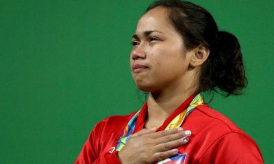 Tiebreaker Times Diaz plans to continue development of weightlifting in the country 2016 Olympic Games News Weightlifting  Hidilyn Diaz 2016 Olympic Games - Weightlifting