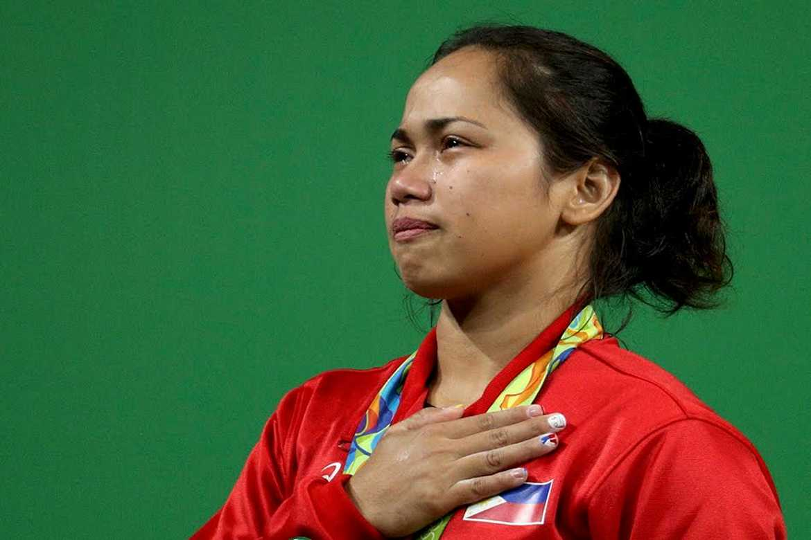 Philippine Sports News - Tiebreaker Times Diaz plans to continue development of weightlifting in the country 2016 Olympic Games News Weightlifting  Hidilyn Diaz 2016 Olympic Games - Weightlifting