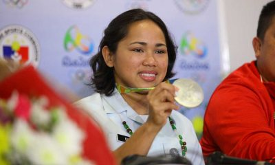 Tiebreaker Times Diaz targets Tokyo 2020 gold 2016 Olympic Games News Weightlifting  Hidilyn Diaz 2016 Olympic Games - Weightlifting
