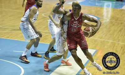 Tiebreaker Times Mahindra continues stellar run, breaks TNT's unblemished start Basketball News PBA  Talk N Text Tropang Texters PBA Season 41 Paolo Taha Larry Fonacier KG Canaleta Jong Uichico Jayson Castro James White Chris Gavina Ben Ammons 2016 PBA Governors Cup