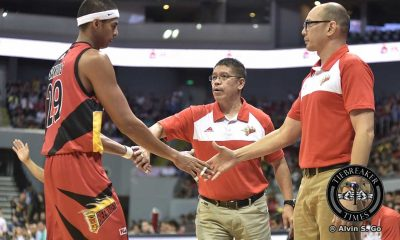 Tiebreaker Times Despite tough Ginebra fightback, Austria remains confident with Beermen Basketball News PBA  San Miguel Beermen PBA Season 41 Leo Austria 2016 PBA Governors Cup