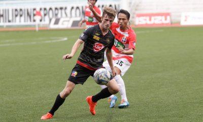 Tiebreaker Times Kaya upends JP Voltes to open second round Football News UFL  Louis Clark Kaya FC JP Voltes FC Chris Greatwich