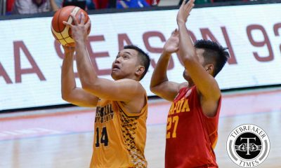 Tiebreaker Times JRU nails back-to-back wins at the expense of Mapua Basketball JRU MIT NCAA News  Vergel Meneses Tey Teodoro Paolo Pontejos NCAA Season 92 Seniors Basketball NCAA Season 92 Mapua Seniors Basketball JRU Seniors Basketball Joseph Eriobu Ervin Grospe Darell Menina Allwell Oraeme