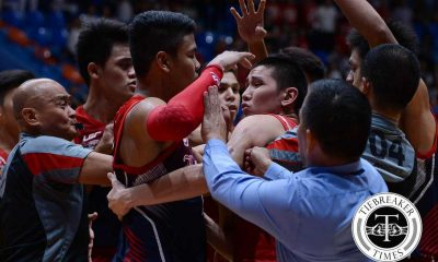 Tiebreaker Times NCAA slaps one-game suspension on 3 Letran players, Bonsubre Basketball CSJL NCAA News SBC  San Beda Seniors Basketball NCAA Season 92 Seniors Basketball NCAA Season 92 Marco Sario Letran Seniors Basketball Junjun Bonsubre Jerrick Balanza Chris Dela Pena