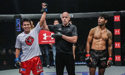 Tiebreaker Times WATCH: Kelly, Soriano make mark in Jakarta Mixed Martial Arts News ONE Championship  Vincent Latoel ONE Titles and Titans Mario Wirawan Edward Kelly Bernard Soriano