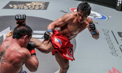 Tiebreaker Times Lakay's Folayang, Banario thrill, take home wins Mixed Martial Arts News ONE Championship  ONE Heroes of the World Honorio Banario Eduard Folayang Eddie Ng Adrian Pang