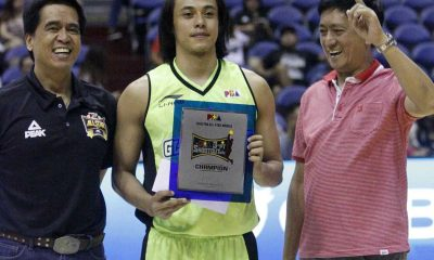 Tiebreaker Times Romeo beats Canaleta, Jazul to retain 3-Point Shootout title Basketball News PBA  Troy Rosario Terrence Romeo Simon Enciso RJ Jazul PBA Season 41 KG Canaleta Jeff Chan Jayjay Helterbrand Jared Dillinger James Yap Garvo Lanete Almond Vosotros Alex Cabagnot 2016 PBA All Star Weekend