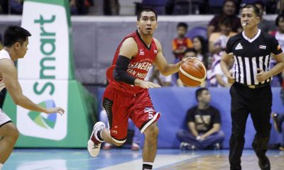 Tiebreaker Times Tenorio, Brownlee too much for Blackwater as Ginebra bags third straight win Basketball News PBA  Tim Cone Leo Isaac LA Tenorio Justin Brownlee Japeth Aguilar Eric Dawson Carlo Lastimosa Blackwater Elite Barangay Ginebra San Miguel Art dela Cruz 2016 PSL Season 2016 PSL All Filipino Conference
