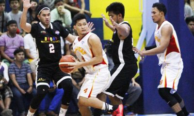 Tiebreaker Times Alolino, Ferrer lift Tanduay to the Finals Basketball News PBA D-League  Tanduay Rhum Masters Robby Celiz Reden Celda Racal Tile Masters Lawrence Chongson Kevin Ferrer Jonathan Grey Jamil Ortuoste Gelo Alolino Caloy Garcia 2016 PBA D-League Season 2016 PBA D-League Foundation Cup