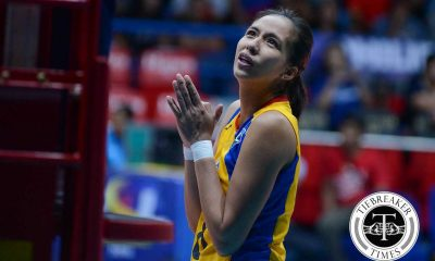 Tiebreaker Times Gonzaga doubtful for FIVB Women's CWC 2016 FIVB Women's CWC News PSL Volleyball  RC Cola Army Lady Troopers Jovelyn Gonzaga 2016 PSL Season 2016 FIVB Club World Championship