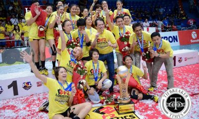 Tiebreaker Times 2016 PSL All Filipino Conference Awarding Ceremony News PSL Volleyball  RC Cola Army Lady Troopers Kim Fajardo Jovelyn Gonzaga Jaja Santiago Foton Tornadoes F2 Logistics Cargo Movers Dawn Macandili Bernadette Pons Ara Galang Aby Marano 2016 PSL Season 2016 PSL All Filipino Conference