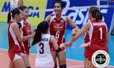 Tiebreaker Times Cignal sweeps Navy to set-up showdown with Generika News PSL Volleyball  Zenaida Chavez Standard Insurance-Navy Corvettes Sammy Acaylar Pau Soriano Mela Tunay Jeanette Panaga Cignal HD Spikers Cherry Vivas 2016 PSL Season 2016 PSL All Filipino Conference